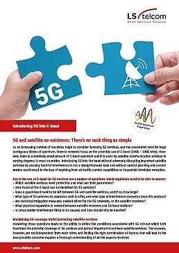 Introducing 5G into C-band