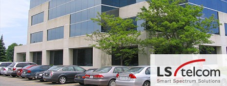 The LS telcom premises in Canada