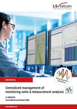 LS OBSERVER: Central Monitoring Software (CMS)